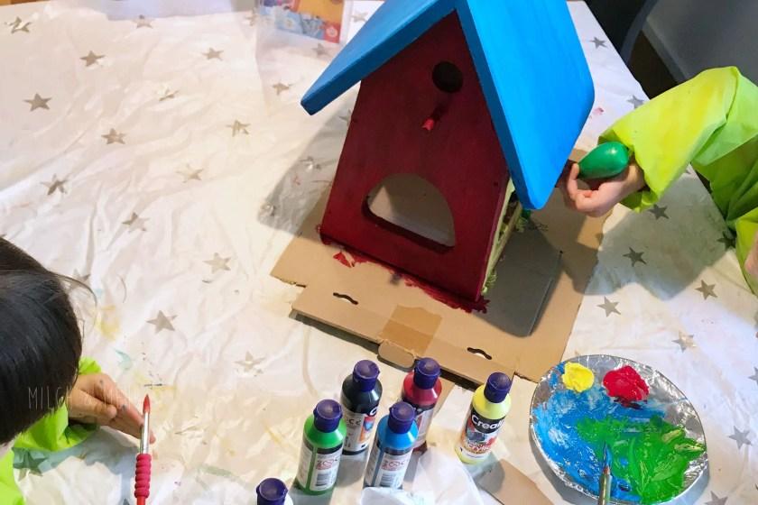 WIB #kw36 DIY Vogelhaus selbstbauen und bemalen