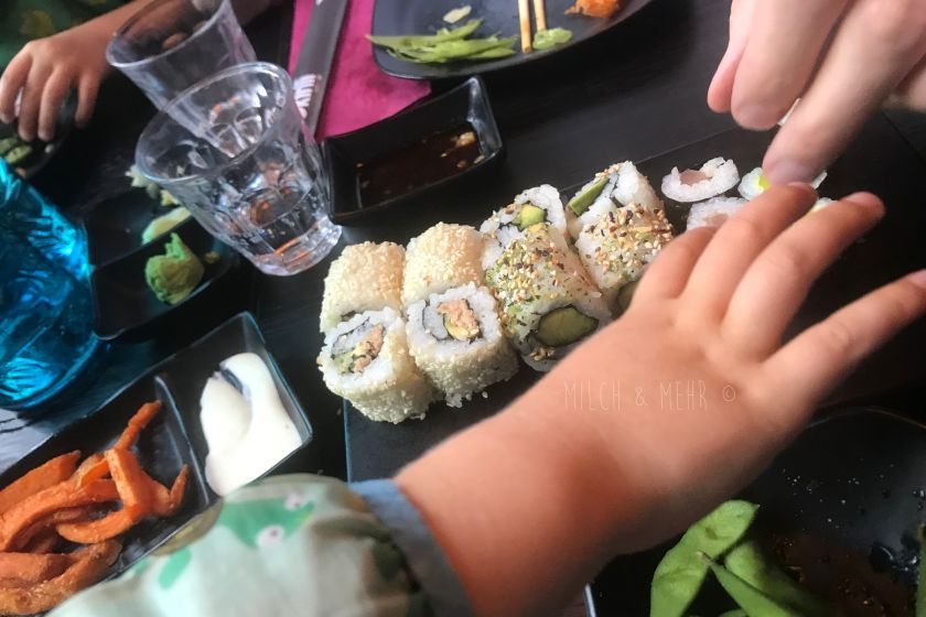 Sushi Restaurant Okinii mit Kindern