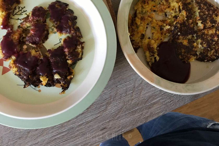 WIB #kw43 Reibekuchen mit Gemuese zu Mittag