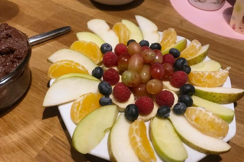 WIB #kw45 Obstteller zum Familienfruehstueck