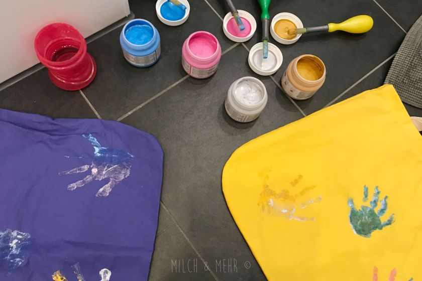 WIB #kw47 Taschen mit Glitzerhand bedrucken