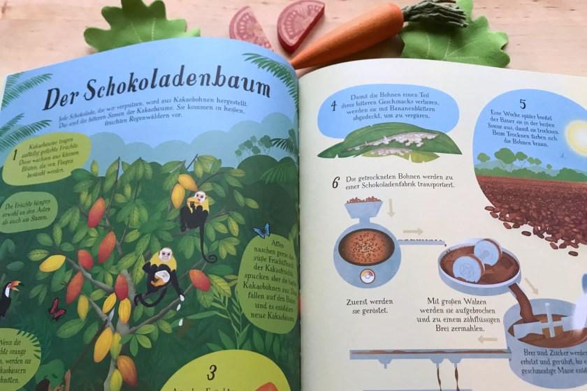 Buchrezension So waechst unser Essen Usborne Verlag
