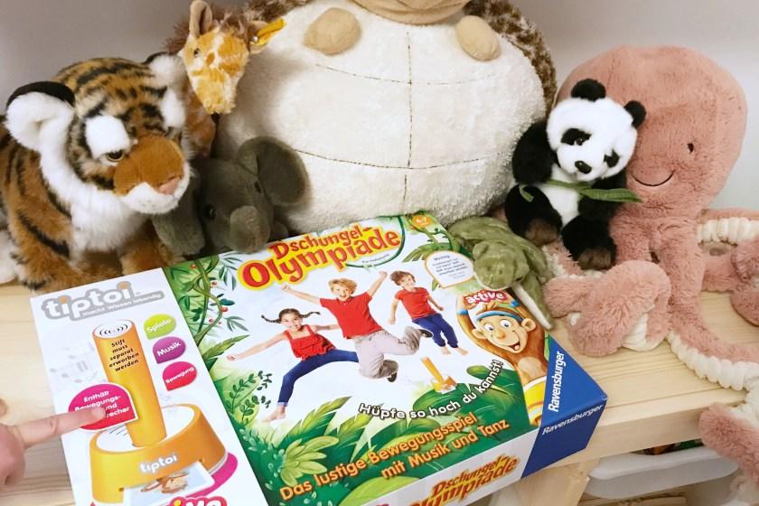 Ravensburger tiptoi Dschungel-Olympiade im Test von Milch und Mehr