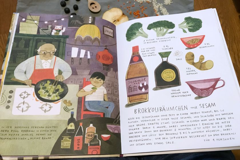 Kinderbuch Tipp Gruener Reis und Blaubeerbrot