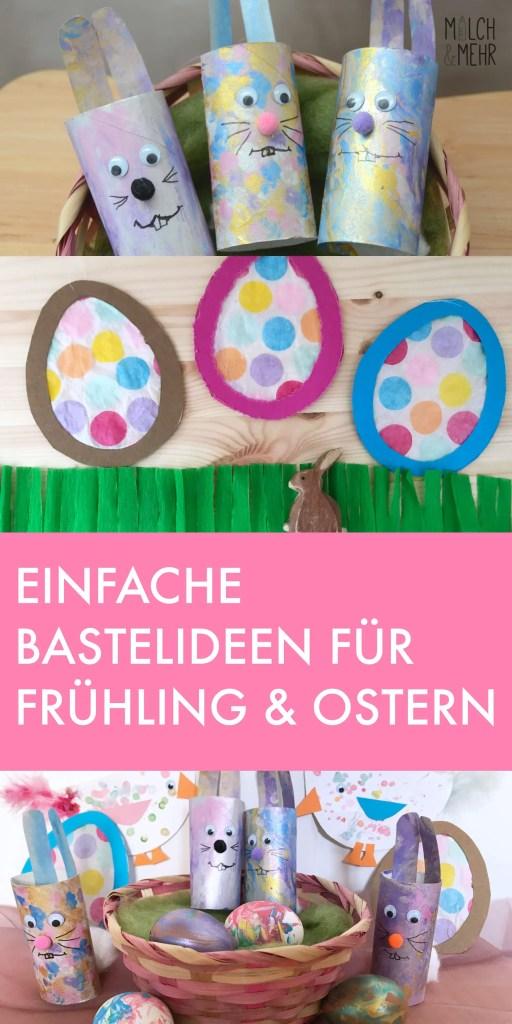Basteln mit Kindern Fruehling und Ostern
