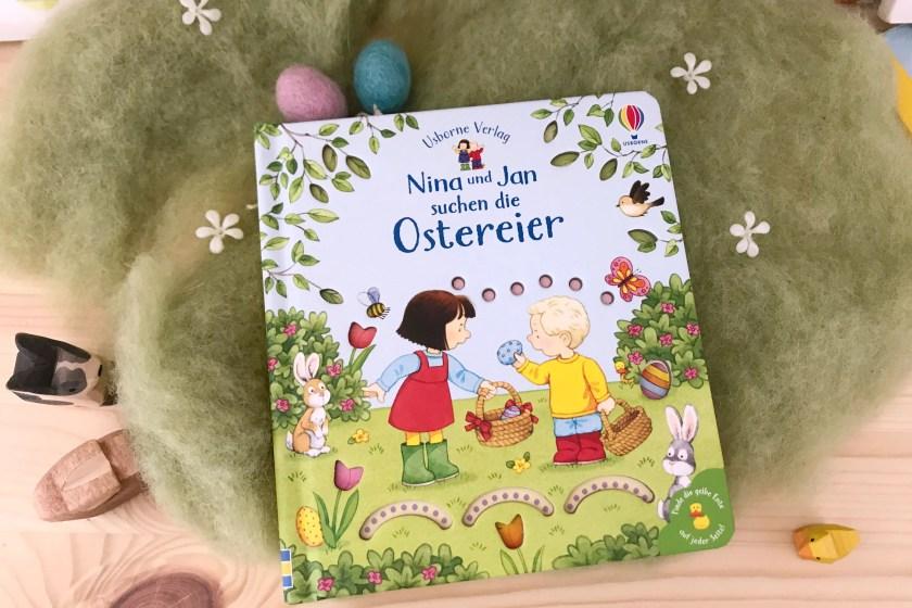 Buchtipp Fruehling Nina und Jan suchen Ostereier