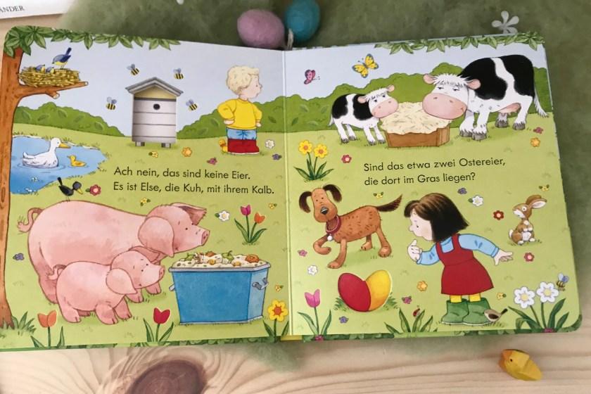 Nina und Jan suchen Ostereier Blick ins Buch