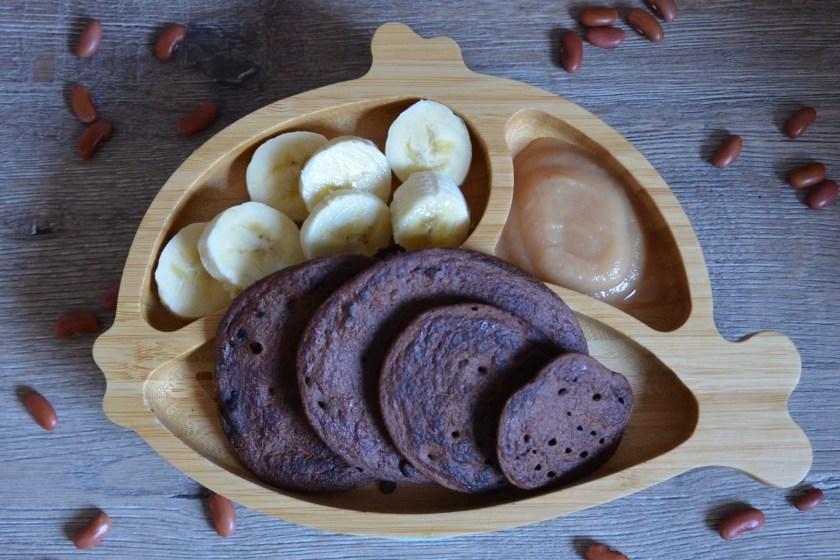 Pancakes mit Kakao Banane