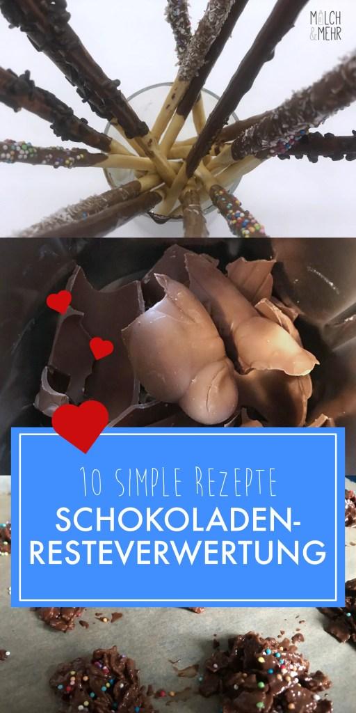 Schokolade Resteverwertung zehn simple Rezepte