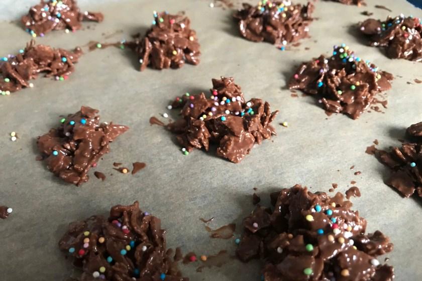 selbstgemachte Choco Crossies Anleitung