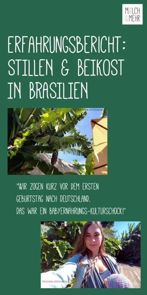 Stillen und Beikost in Brasilien Erfahrungsbericht