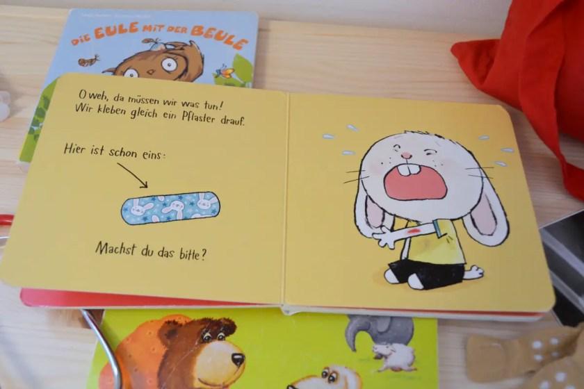 Kleinkind Buch Gesundheit Hasenkind