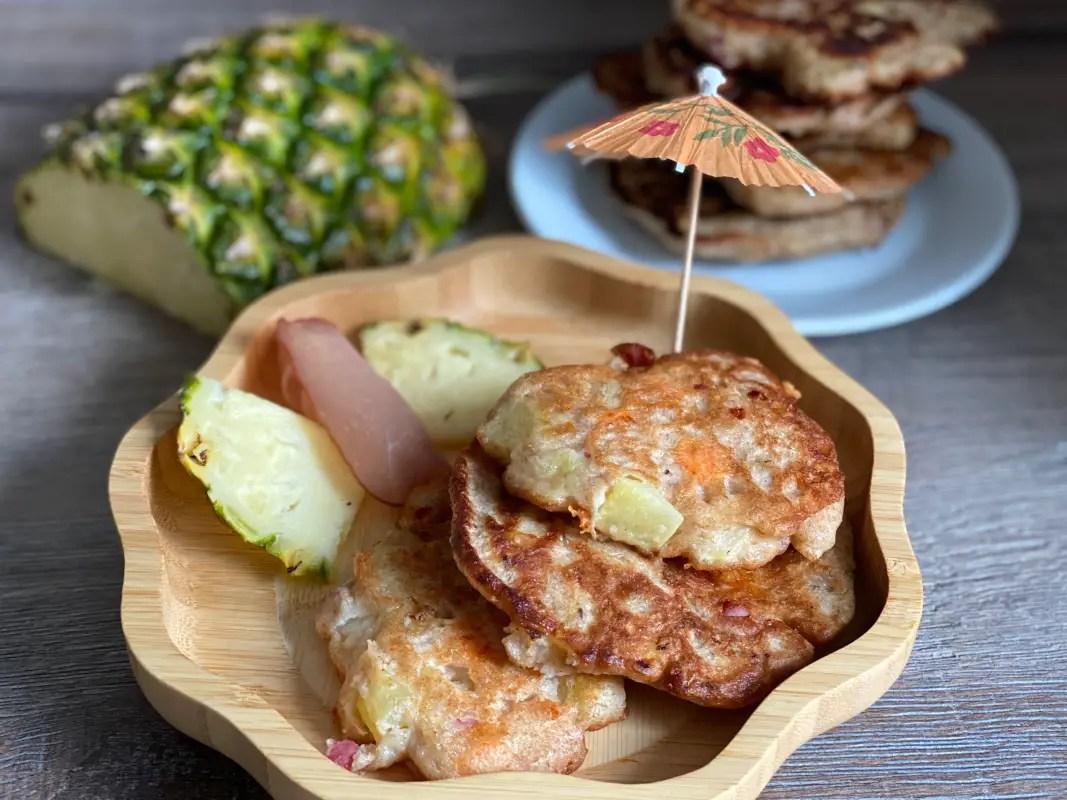 Pfannkuchen Hawaii Rezept