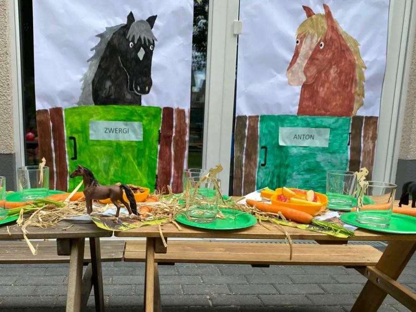 Pferde Kindergeburtstag Deko Selbermachen