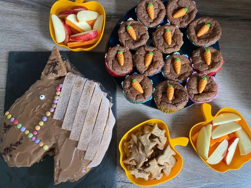 Pferdeparty Kuchenbuffet Kinder
