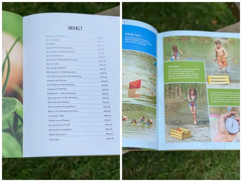 Sommer Sach und Mach Buch Inhalt