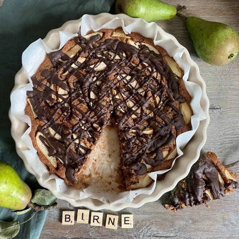 Birnen Nuss Kuchen Rezept