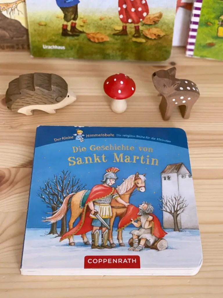 Herbst Bilderbuch Sankt Martin