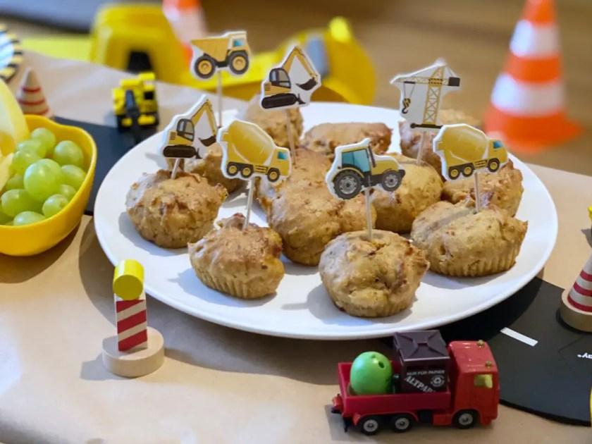 Baustellenparty Muffins