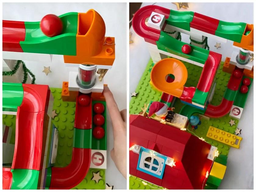 Hubelino Kugelbahn Weihnachten