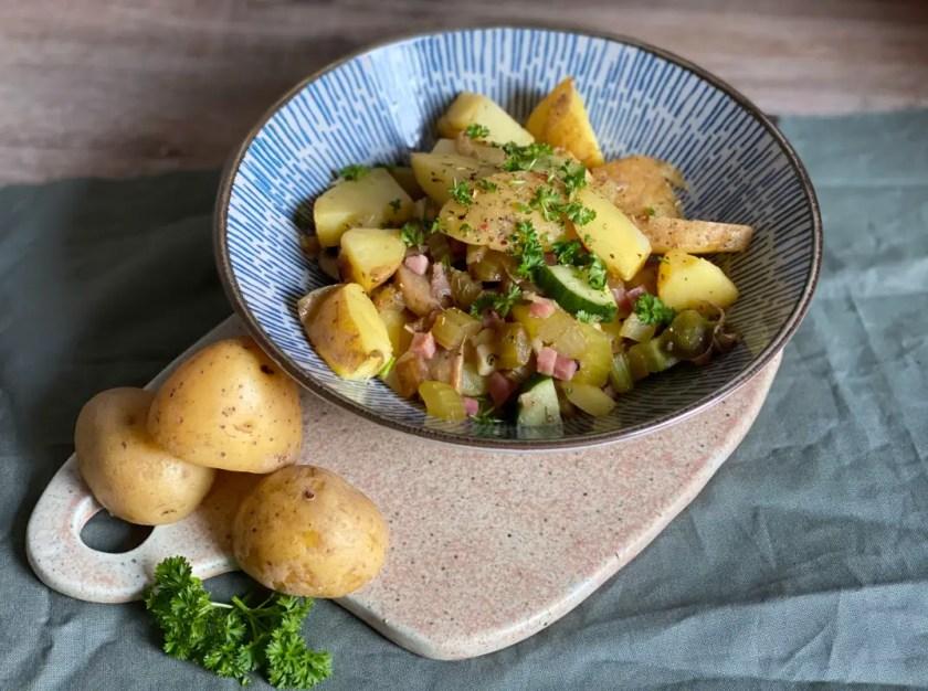 warmer Kartoffelsalat Essig Oel