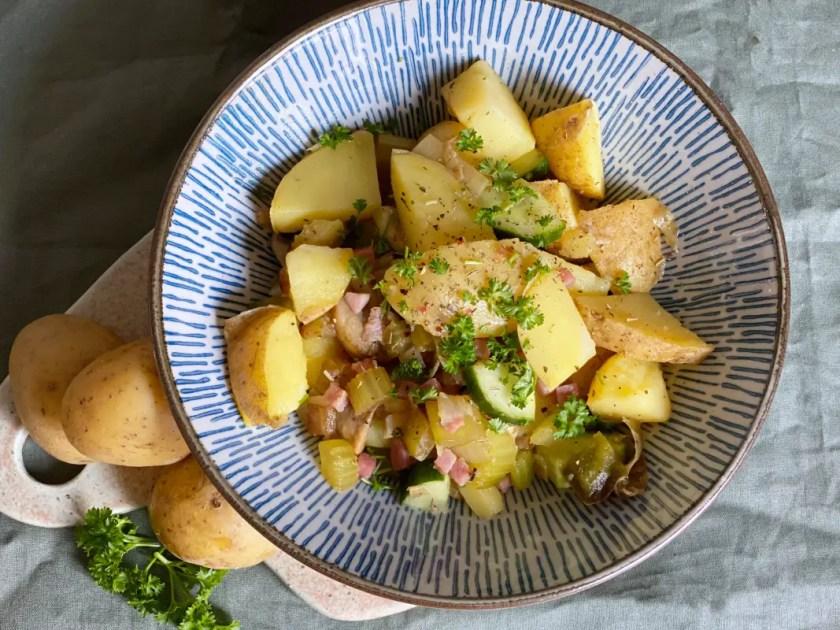 warmer Kartoffelsalat Weihnachten