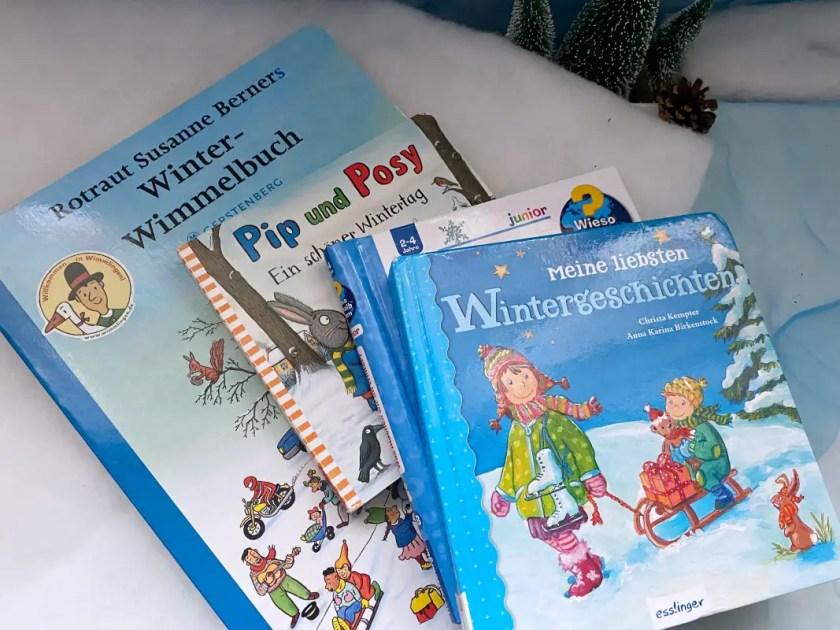 Kinderbuecher Winter Zwei Jahre