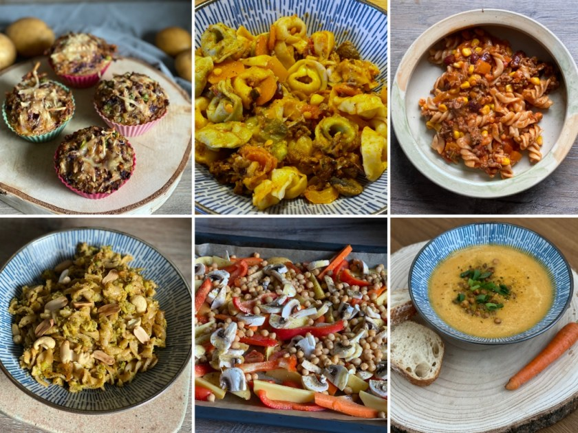 Meal Prep Ideen Januar