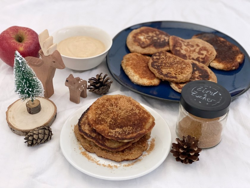 Meal Prep Winter Lebkuchen Pfannkuchen