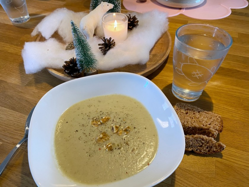 Pilz Sellerie Suppe