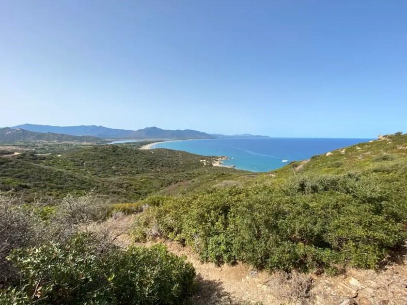 Capo Ferrato Sardinien Aussicht