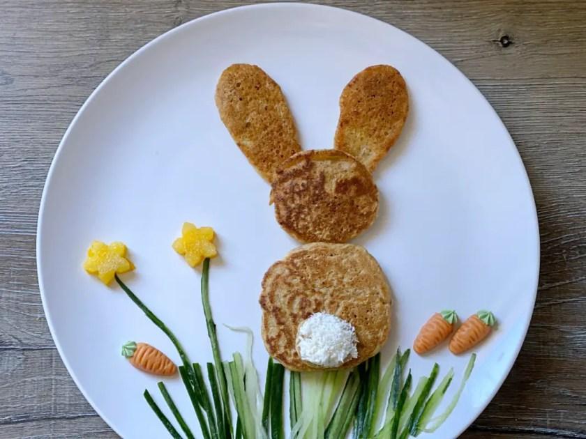 Hasen Pancakes Kinder Snacks