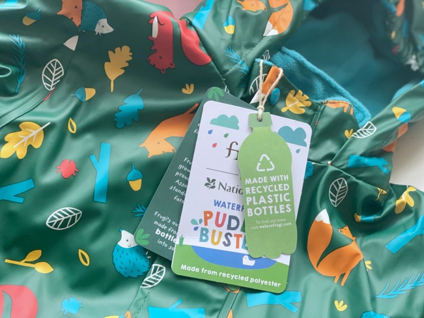 Kindermode recyceltes Plastik