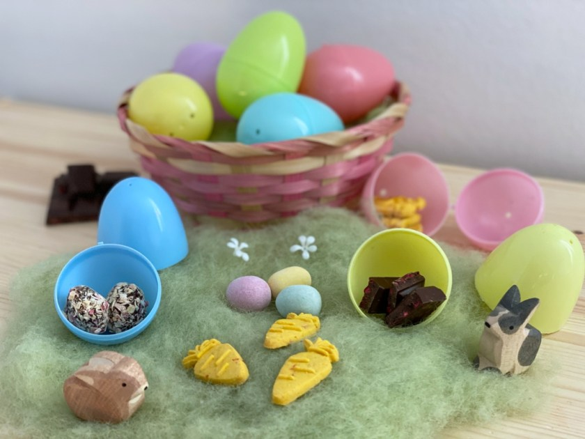 Plastikeier Ostern Befuellen