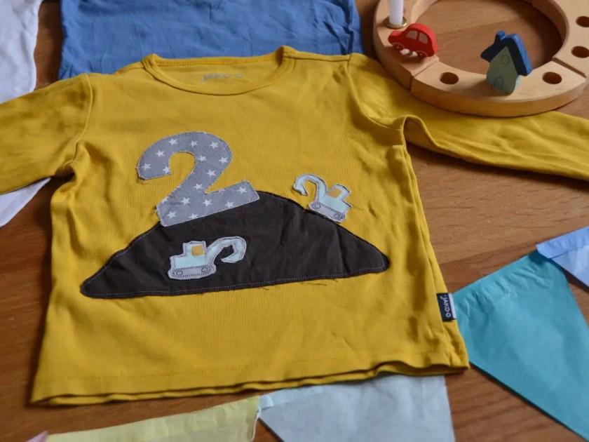 Baustellen Shirt Geburtstag