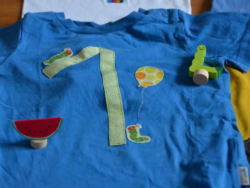 Raupe Nimmersatt Geburtstag Shirt