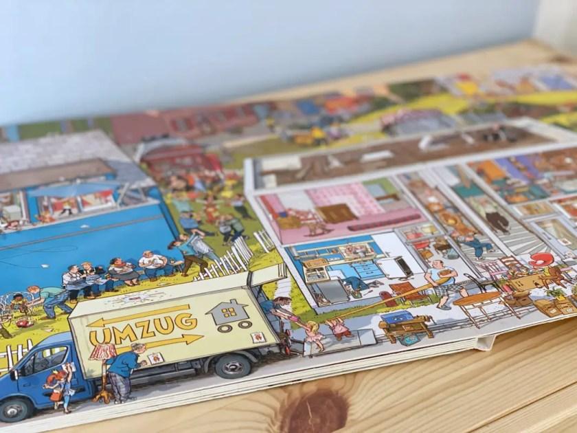 Bilderbuch Unser Zuhause