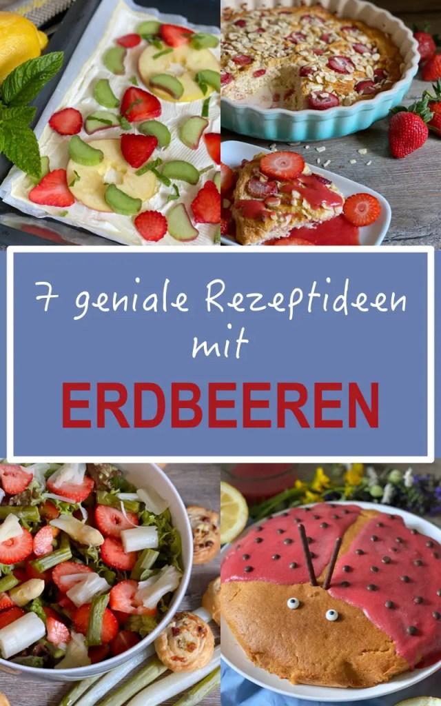 Rezeptideen Erdbeeren Pinterest