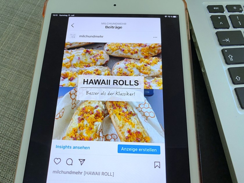 neues Instagram Rezept