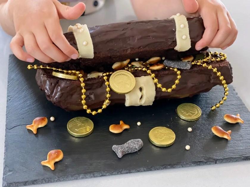 Schatztruhe Kuchen