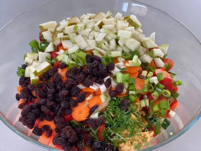 Zutaten Couscous Salat