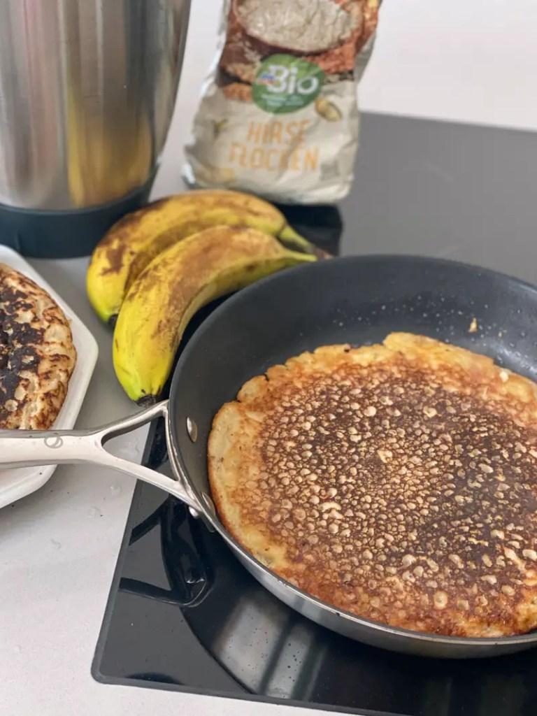 Pfannkuchen Rezept Hirse