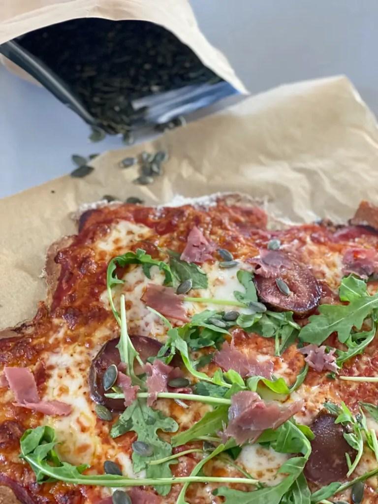 Pizza Rezept Kuerbiskerne