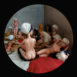 Turkish bath after Ingres
