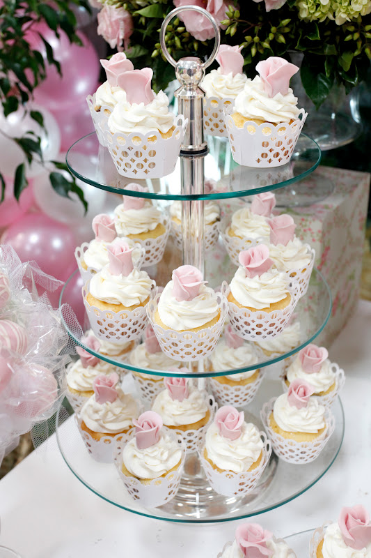 cupcake festa bailarina