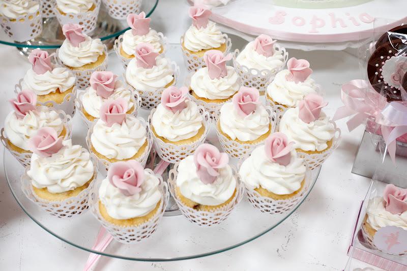 cupcakes festa bailarina