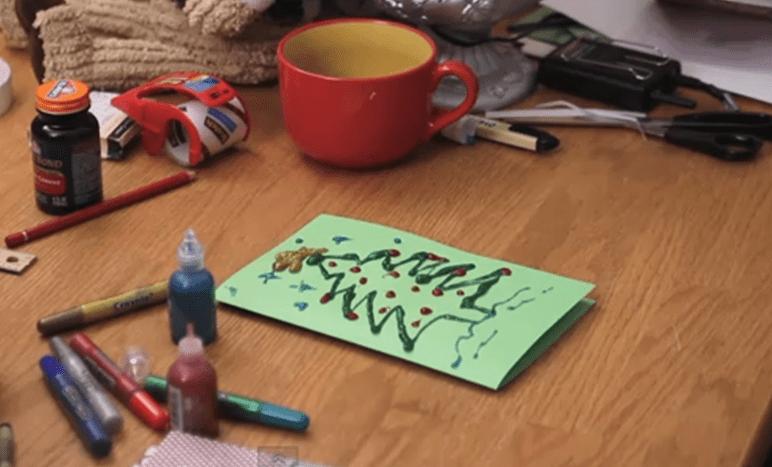cartao de natal para crianças
