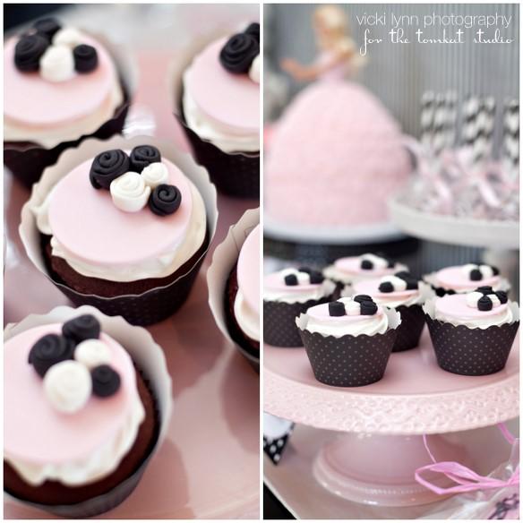 cupcakes da barbie