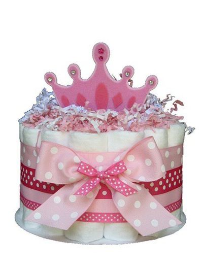 bolo de fraldas princesas