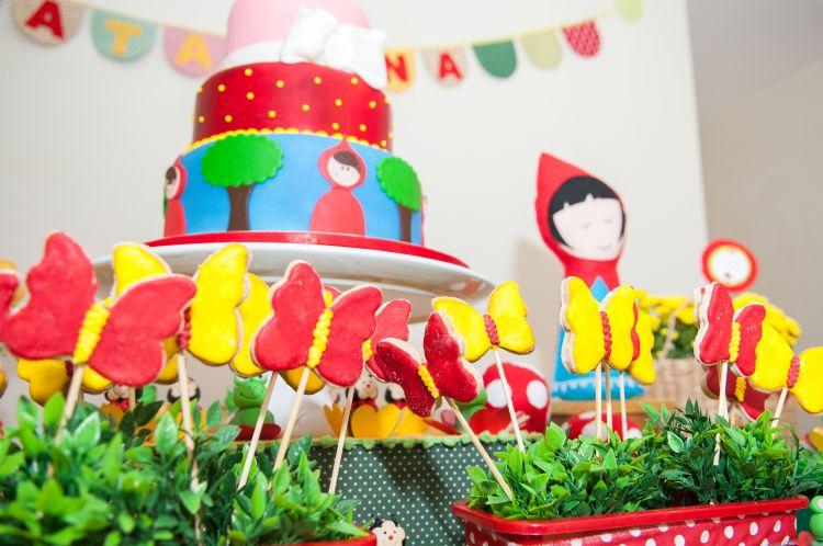 festa chapeuzinho vermelho doces